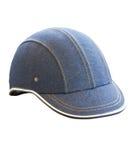 Denim Helmet. stock photography