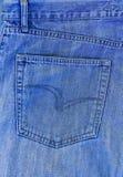 Denim, het blauwe materiaal van Jean stock afbeeldingen