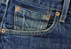 Denim-Hose. Stockfoto