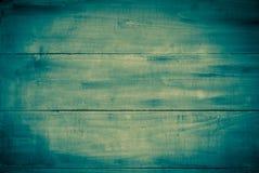 Denim houten oppervlakte Royalty-vrije Stock Foto's