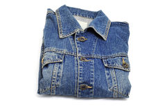 Denim jacket Royalty Free Stock Photos