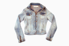Denim jacket stock photography