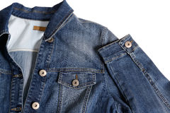 Denim jacket Royalty Free Stock Images