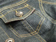 Denim jacket Royalty Free Stock Photo