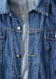 Denim jacket detail Stock Photography