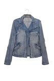 Denim jacket Royalty Free Stock Photography