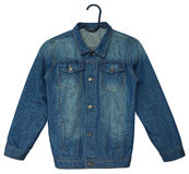 Denim jacket Stock Photography