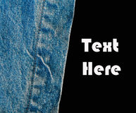 Denim jean background, Denim texture Stock Photos