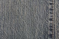 Denim jean material background Royalty Free Stock Photos
