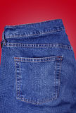 Denim Jean Pocket (Insert anyone or anything!) Stock Photo