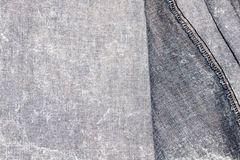 Denim jean textile Royalty Free Stock Photos