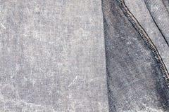 Denim jean textile Royalty Free Stock Photos