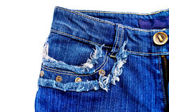 Denim jeans Royalty Free Stock Photo