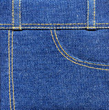 Denim jeans Royalty Free Stock Photos