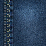 Denim jeans background Stock Images