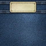 Denim jeans background Stock Photography