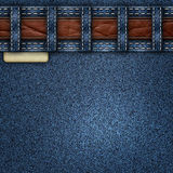 Denim jeans background Royalty Free Stock Images