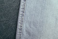 Denim jeans background set of different selections Royalty Free Stock Image
