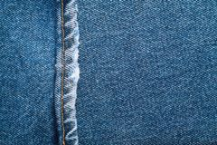 Denim jeans background set of different selections Stock Photo