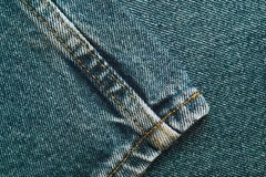 Denim jeans background set of different selections Royalty Free Stock Images