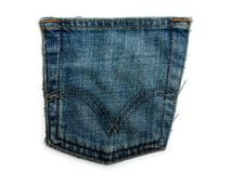 Denim jeans backgrounds Royalty Free Stock Image