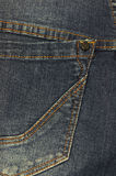 Denim jeans close up. Denim jeans pocket close up Stock Image