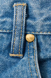 Denim Jeans Detail Royalty Free Stock Photo