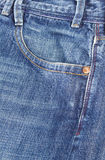 Denim Jeans Pocket Stock Photo