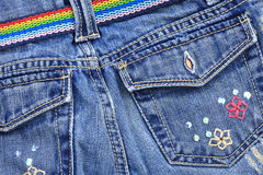 Denim jeans Royalty Free Stock Photo