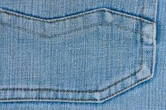 Denim Jeans Pocket Royalty Free Stock Photos