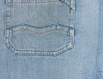 Denim Jeans Pocket Stock Photos