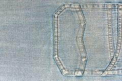 Denim Jeans Pocket Royalty Free Stock Image