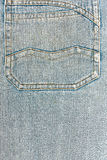 Denim Jeans Pocket Royalty Free Stock Photography