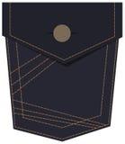 Denim Jeans Pocket Stock Image