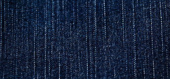 Denim jeans texture. Dark blue denim jeans texture Royalty Free Stock Photography