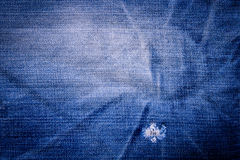 Denim jeans texture  background with old torn Stock Photo