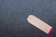 JEANS texture background with tag. Denim jeans texture background with tag Royalty Free Stock Photo