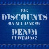 Denim jeans texture pattern Stock Photos