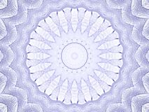 Denim Mandala against White Stock Images