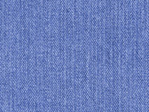Denim Material Background. Background of blue denim material Royalty Free Stock Image