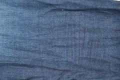 Denim old blue jeans texture Royalty Free Stock Photography