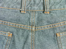 Denim pants Royalty Free Stock Images