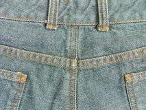 Denim pants. Behind part of denim pants Royalty Free Stock Images