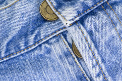 denim pants buttons close up Stock Photos