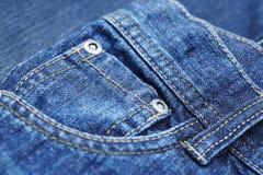 Denim pants, close up Stock Image