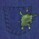 Denim pants Stock Image
