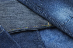 Denim pants, close up Stock Image