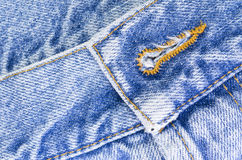 denim pants close up Stock Photos
