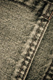 Denim pants close up Royalty Free Stock Photos