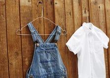 Denim pants Stock Photo